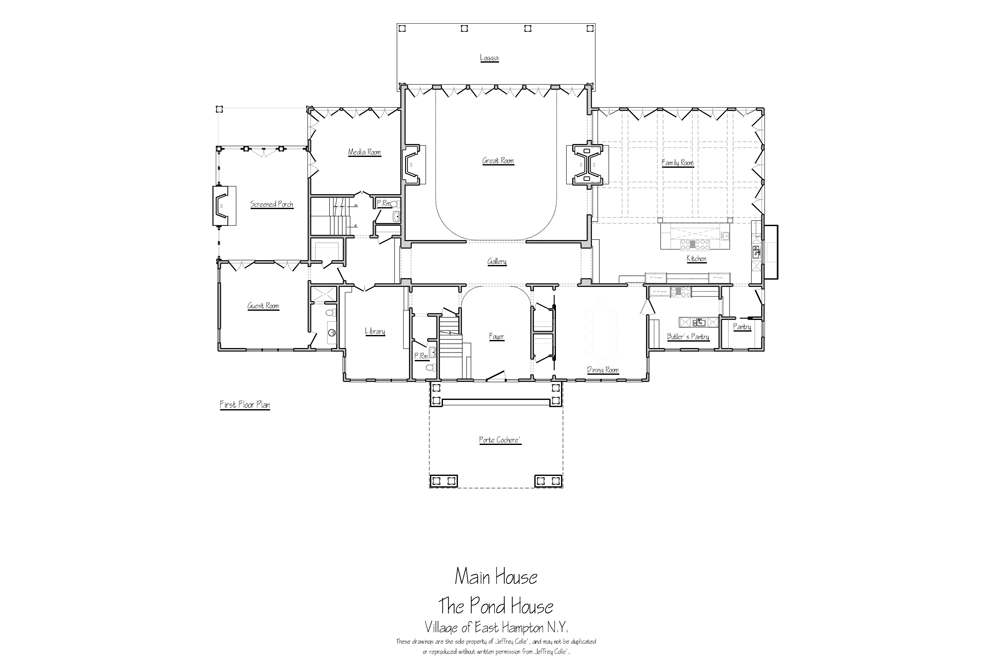 East hampton homes for sale waterfront luxury for Small pond house plans